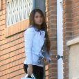 Lionel Messi et sa belle Antonella Roccuzzo accompagnés de leur petit Thiago sont allés rendre visite à Jose Manuel Pinto à Barcelone le 2 décembre 2012