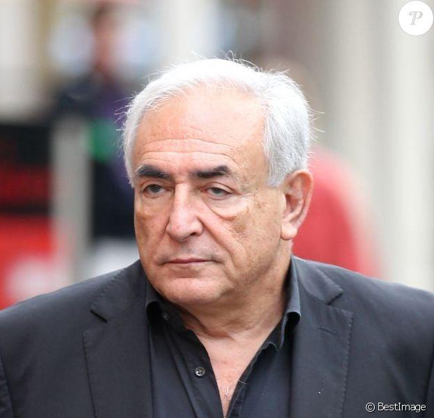 Dominique Strauss-Kahn à Paris le 20 septembre 2011.