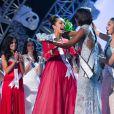 Miss USA, Olivia Culpo, sacrée Miss Univers 2012 à Las Vegas, le 19 décembre 2012