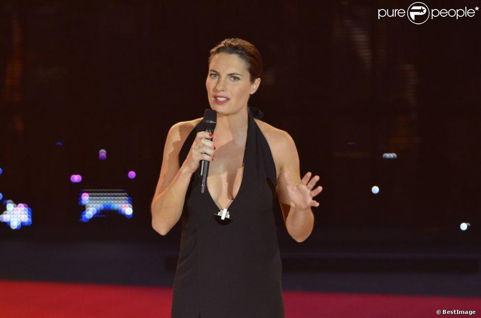 Alessandra Sublet en mars 2012 pour les Victoires de la musique