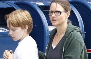 Jodie Foster : Tendre moment avec son fils Christopher, ils sont prêts pour Noël