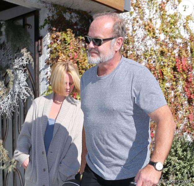 Kelsey Grammer, sa femme Kayte Walsh et leur fille Faith dans les rues de West Hollywood, le 20 decembre 2012.
