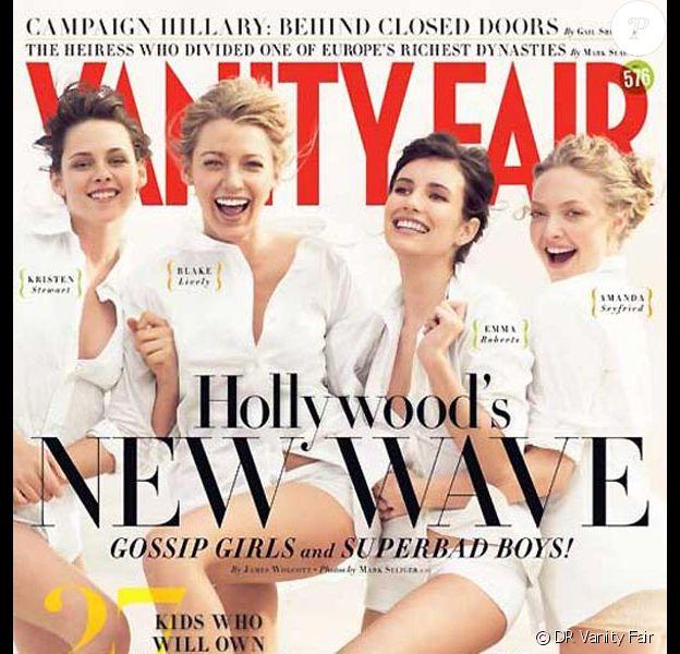 Les nouveaux visages d'Hollywood dans Vanity Fair