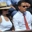Eric et Yasmine Besson, mariés depuis le 12 septembre 2010, sont apparus sans complexe dans les gradins du central Philippe-Chatrier pour la finale de Roland-Garros 2011 opposant Nadal et Federer.