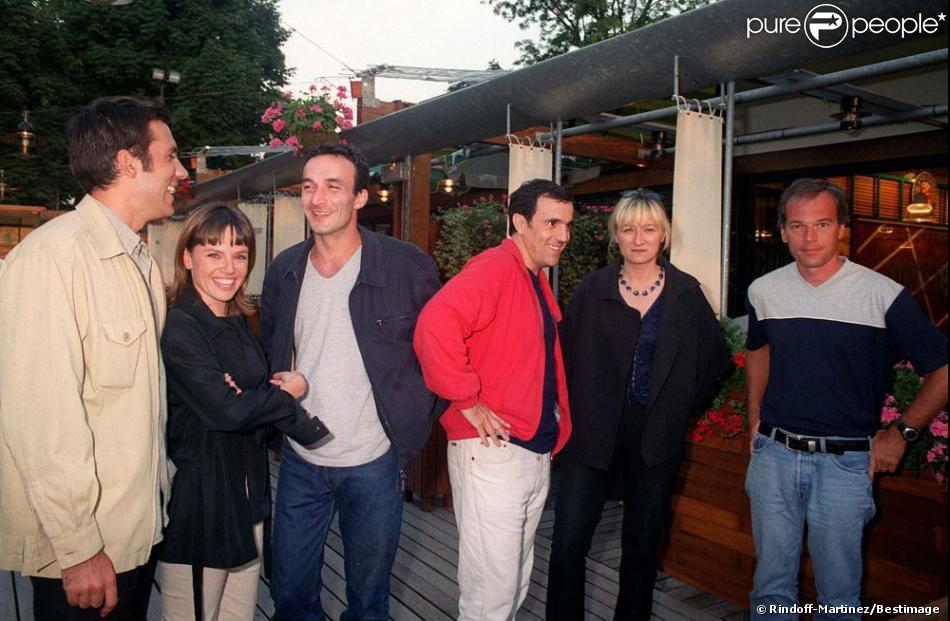 Emmanuelle gaume fr d ric joly pascal sellem thierry - Thierry beccaro emmanuelle beccaro lannes ...