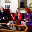EXCLU : Morgan, sa soeur Capucine et Pascale de Qui veut épouser mon fils ? 2 dans leur appartement parisien en décembre 2012