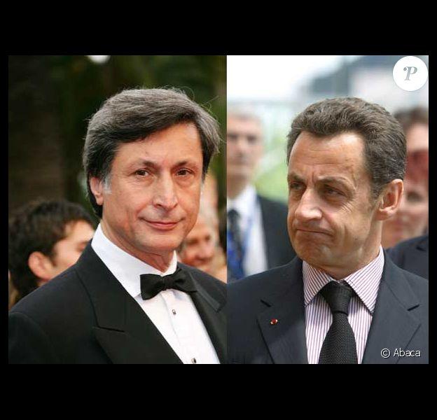 Patrick de Carolis et Nicolas Sarkozy