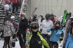 Cristina d'Espagne : Répit à la neige avec ses quatre enfants, avant les ennuis