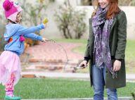 Alyson Hannigan : Elle s'éclate au parc avec sa grande fille au look négligé