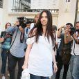 Béatrice Dalle au défilé Givenchy