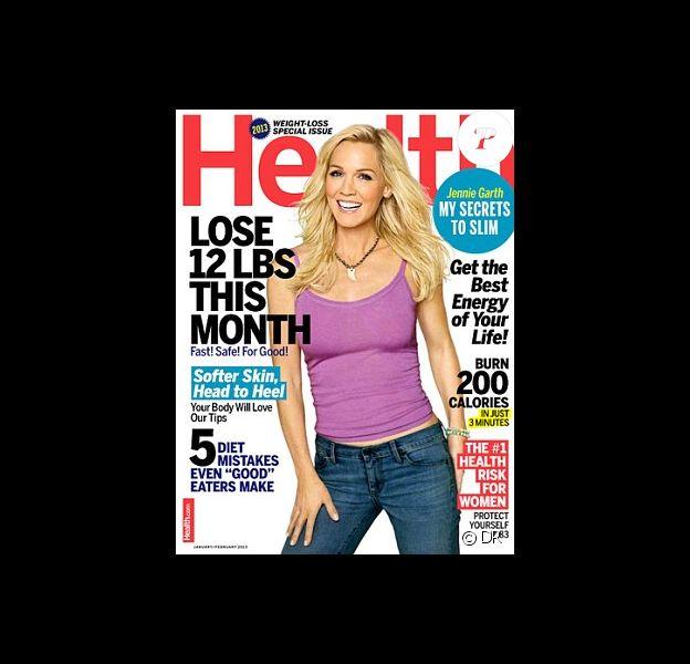 Jennie Garth en couverture de Health Magazine
