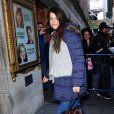 Katie Holmes se rendant au théâtre, le samedi 5 janvier 2013.