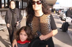 Salma Hayek : Naturelle et sauvage avec sa petite fille Valentina