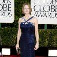 Jodie Foster sur le tapis rouge des Golden Globes à Los Angeles, le 13 janvier 2013.