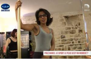 Audrey Pulvar se lance sans conviction dans le pole dance