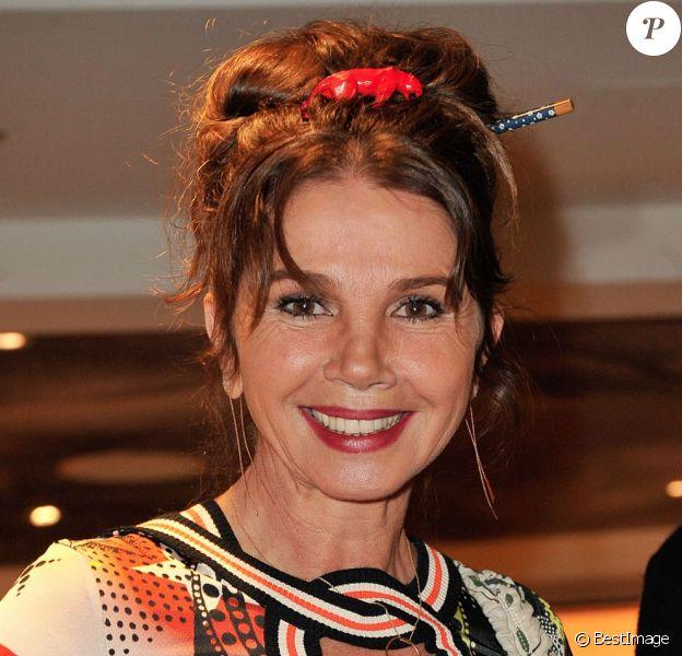 Victoria Abrillors du vernissage de l'exposition de Richard Orlinski au Sofitel Le Faubourg à Paris, le 15 janvier 2013