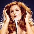 Dalida, image d'archive de la chanteuse, photo non datée.