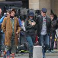 Le tournage de Red 2 à Paris en octobre 2012 avec John Malkovich, Mary-Louise Parker et Bruce Willis