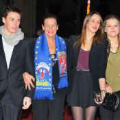 Pauline, Louis, Camille avec Stéphanie de Monaco, des étoiles plein les yeux