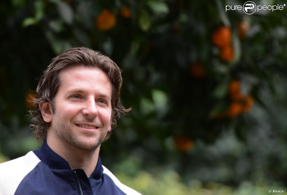 Bradley Cooper a quitté Paris pour aller assurer la promotion de Silver Linings Playbook (Happiness Therapy) à Rome, le 21 janvier 2013.