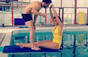 Laury Thilleman : L'ex-Miss France sexy en maillot de bain pour Splash