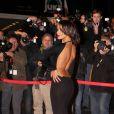 Shy'm en transparence lors des 14e NRJ Music Awards, à Cannes, le 26 janvier 2013
