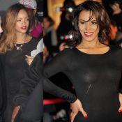 Shy'm - Rihanna: Qui montre le mieux son corps sous sa robe noire transparente ?