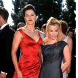 Lucy Lawless et Renée O'Connor le 14 septembre 1998 à Los Angeles.
