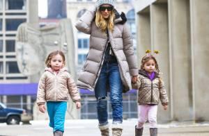 Sarah Jessica Parker et ses jumelles : adorables complices sous la neige