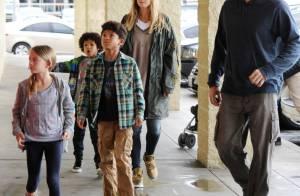 Heidi Klum : Inséparable de sa tribu et de son nouveau chéri Martin Kristen