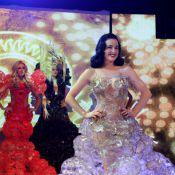 Dita von Teese : La star du burlesque divine dans une robe à croquer !