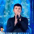 Paul chante Un Homme extraordinaire des Innoncents dans Nouvelle Star sur D8 le mardi 29 janvier 2013