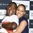 Tracy Morgan et sa fiancée enceinte Megan Wollover à New Yorkle 15 août 2012.