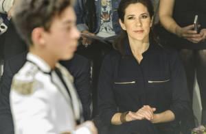 Princesse Mary : Ravissante dans son bleu de travail au Salon de la mode danois