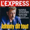 Johnny Hallyday en couverture de L'Express, en kiosques le 6 février 2013.