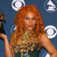 La rappeuse Lil Kim lors des 44e Grammy Awards en 2002.