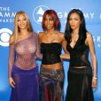 Le groupe des Destiny's Child composé de Beyoncé, Kelly Rowland et Michelle Williams lors des 44e Grammy Awards en 2002.