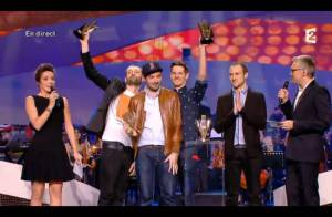 Victoires de la Musique 2013 : C2C fait le coup du Tetra pack, un carton !