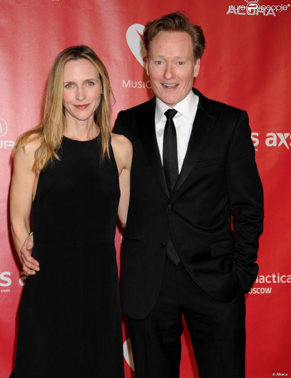 Conan O'brien Wife Pics Conan O'brien et Son épouse