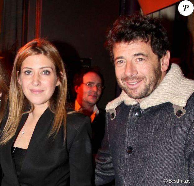 Exclu : Amanda Sthers et Patrick Bruel, à Paris, le 31 janvier 2013.