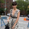Jamie-Lynn Sigler arrive à la fashion week pour le défilé de Tracy Resse, à New York, le 11 septembre 2011.