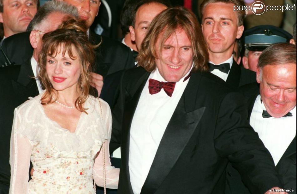 Elisabeth et Gérard Depardieu au Festival de Cannes le 15 mai 1994.