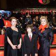 Emmanuelle Bercot, Nemo Schiffman et Catherine Deneuve à la première du film Elle S'en Va, durant la 63e Berlinale, le 15 février 2013.