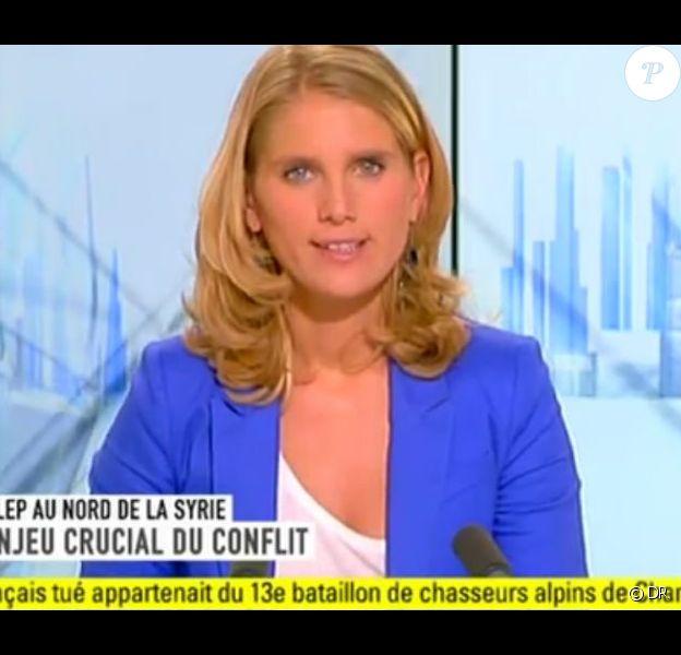 Laurie Milliat-Desorgher sur i-Télé en 2012