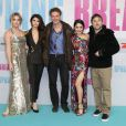 Ashley Benson, Selena Gomez, Marc Gabizon, Vanessa Hudgens et Harmony Korine à la première de Spring Breakers à Berlin, le 19 février 2013.