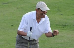 Barack Obama : Une partie de golf avec Tiger Woods suscite une vive polémique
