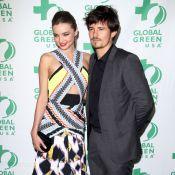 Miranda Kerr, coquine et amoureuse, voit vert avec son Orlando Bloom