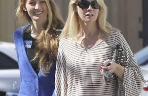 Jennie Garth et sa grande fille Luca complices en virée shopping