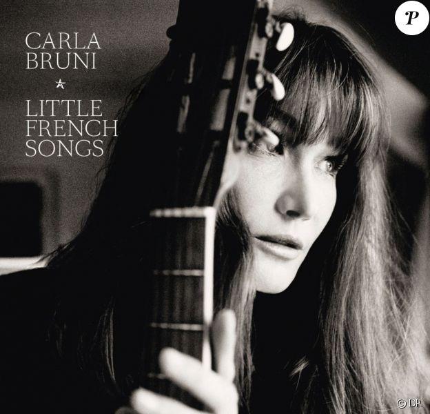 """Carla Bruni photographiée par Richard Dumas pour """"Little French Songs"""", album attendu le 1er avril 2013."""