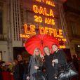 Alexandra Rosenfeld, Sylvie Tellier et Sandrine Quétier lors de la soirée d'anniversaire des 20 ans de Gala, à l'Olympia, à Paris, le 25 février 2013
